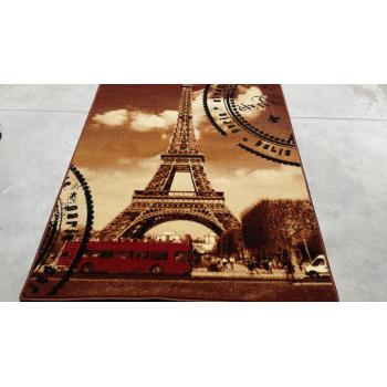 Dywan Makata Eiffel beż
