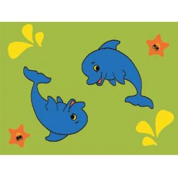 Dywan Weliro Delfinki zielony