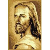 DYWAN MAKATA PAN JEZUS BEŻ 50x70
