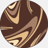 Dywan Weltom Karmel Coffee brąz koło