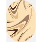 Dywan Weltom Karmel Koffee krem owal