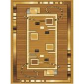 Dywan Weltom Welen Rubik stare złoto